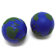 relaxable earth ball
