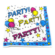 star birthday party napkin