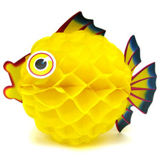 honeycomb bubble fish