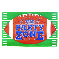 football, party, zone, banner