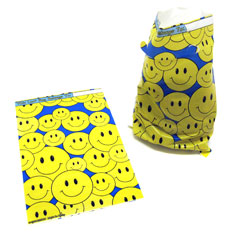 smiley face favor bags