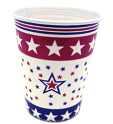patriotic party cups