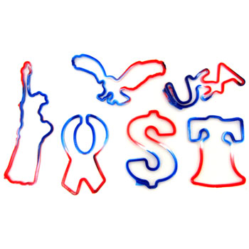 silly bandz patriotic