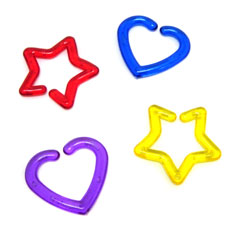 heart star interlocker