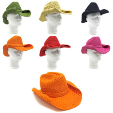 shapable cowboy hats