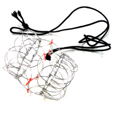 wire puzzle necklace