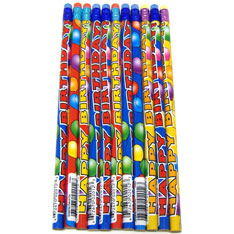 birthday balloon pencil