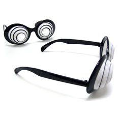 hypnotic party glasses